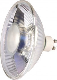 SLV LED ES111 lamp, 6.5W, COB LED, 38°, 2700K, not dimmable