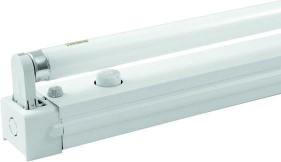 eurolite fassung mit leuchtstoffr hre 60cm 18 20w. Black Bedroom Furniture Sets. Home Design Ideas