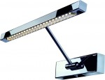 SLV LED Bilderleuchte STRIP, chrom, inkl. LED Strip mit 24 warm weiß