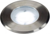 SLV DASAR FLAT 80 outdoor inground fitting, LED, 5000K, IP67, round,