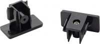 SLV END CAPS for 1-phase high-voltage surface-mounted track black, 2
