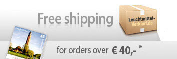 Free shipping for orders over 40 Euro*